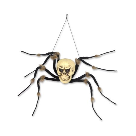 3' Hanging Spider Skeleton Creepy Creature Halloween Decoration](Homemade Halloween Skeleton Decoration)