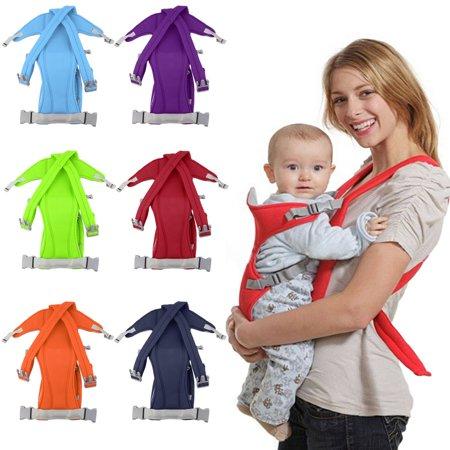 3-16 Month Infant Baby Carrier Sling Wrap Rider Backpack Front/Back Pack Soft