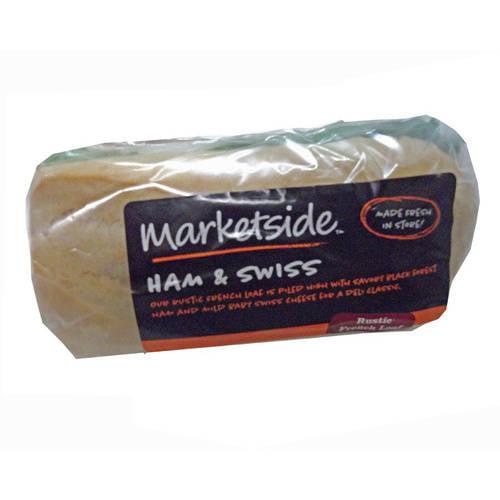Marketside Ham and Swiss Half Sandwich