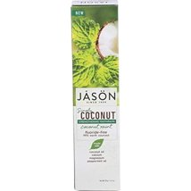 Toothpaste: JASÖN Simply Coconut Strengthening
