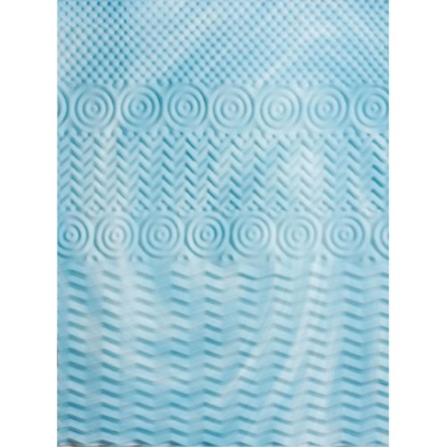 """Cooling Gel Foam Mattress Topper Pad Bed King Size 2/"""" Orthopedic Firm Cover Bed"""