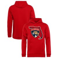 Florida Panthers Fanatics Branded Youth Hometown Collection Pullover Hoodie - Red