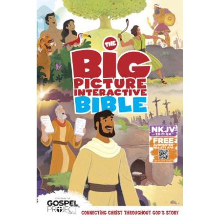 The NKJV Big Picture Interactive Bible, Hardcover : Connecting Christ Throughout God's Story