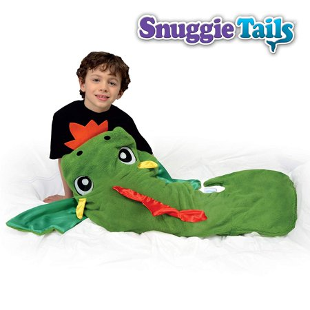 Snuggie Tails Soft, Cuddly Blanket, Green Dragon, As Seen on TV