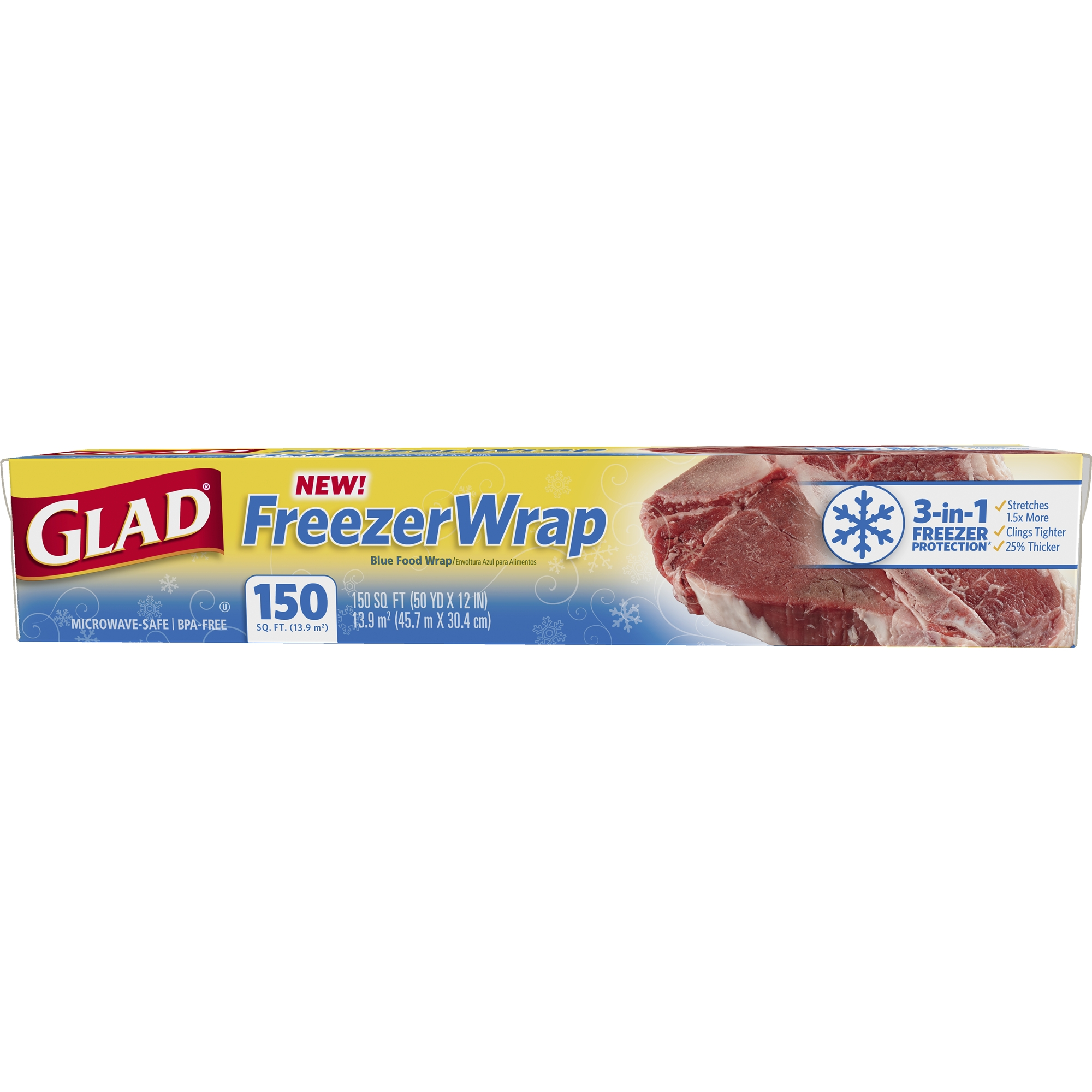 Glad FreezerWrap Plast...
