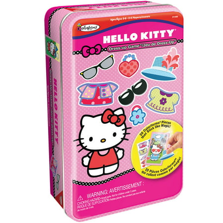 Hello Kitty Bilingual Dress-Up Game Tin