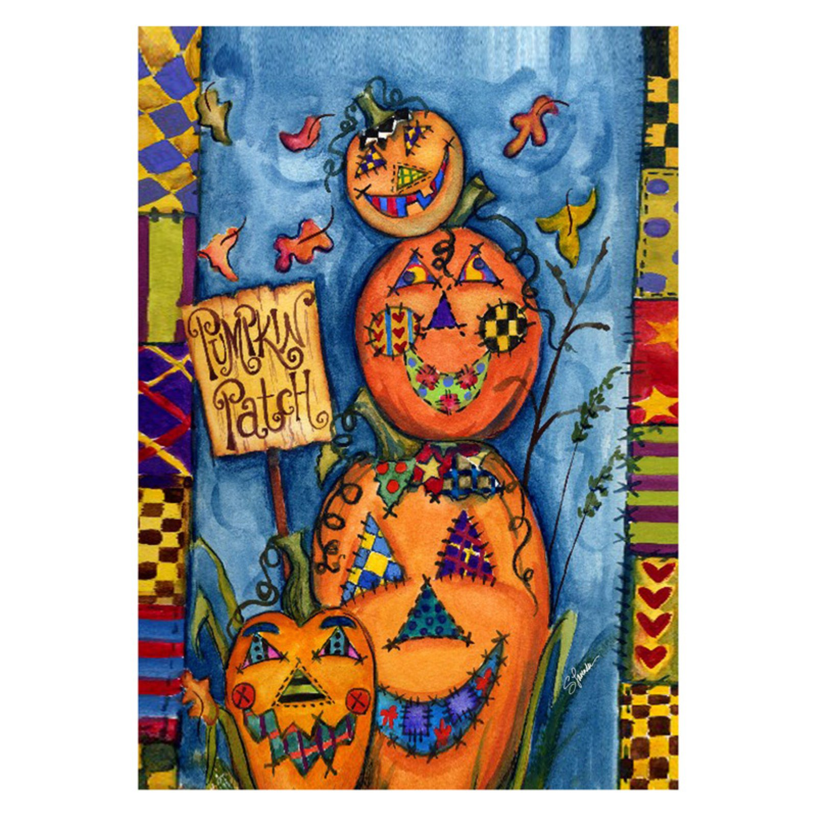 Toland Home Garden Pumpkin Patch Flag
