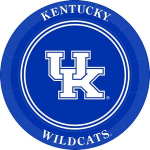 Kentucky University Embroidery (University of Kentucky Paper Plates )
