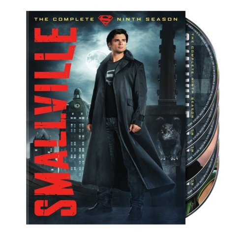 SMALLVILLE-COMPLETE 9TH SEASON (DVD/6 DISC/FF-16:9/SP-FR-PRT-CH SUB/VIVA)