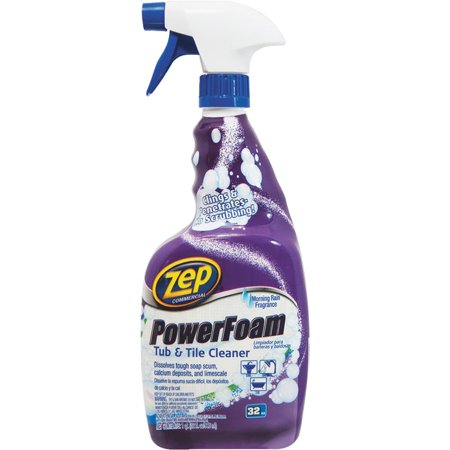 Zep Inc Commercial Power Foam Tub Amp Tile Cleaner 32 Oz