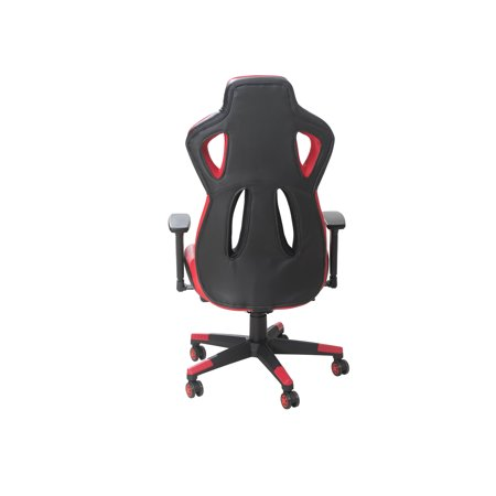 GameRider AIR FLOW Racer Gaming Chair for Adults Teens Dxracer, Adjustable  Armrest and Back Recliner Office Chair, Red/Black