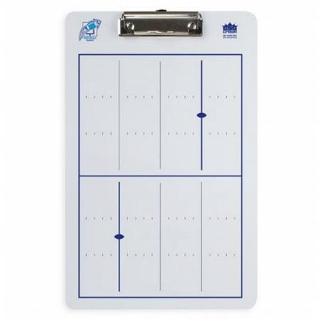 Brybelly SCOA-402 Dry Erase Football Coaching Clipboard