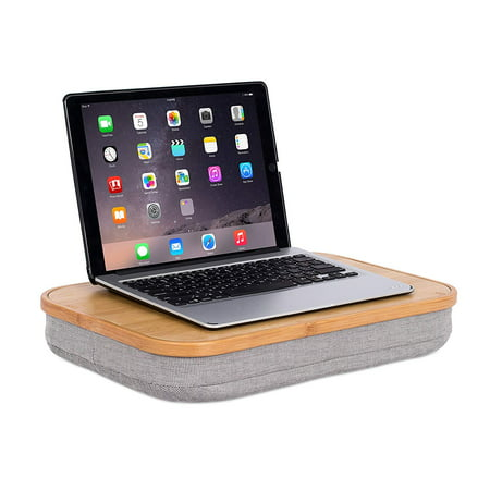Birdrock Home Bamboo Lap Desk With Laptop Storage