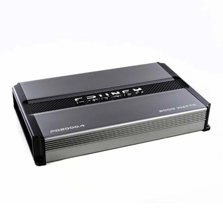 Crunch PD 2000.4 POWER DRIVE Class AB 4-Channel Pro Power Bridgeable Amp, 2,000 Watts Max ()