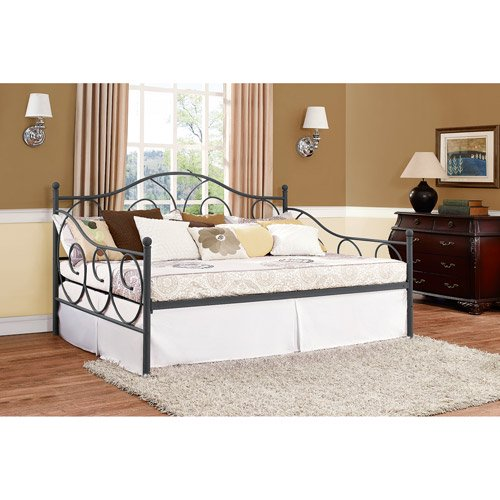Dhp Victoria Metal Daybed Finial Design Full Size Multiple Colors