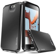 HTC One A9 Case, Evocel [Lightweight] [Slim Profile] [Dual Layer] [Smooth Finish] [Raised Lip] Armure Series Phone Case for HTC One A9, Black