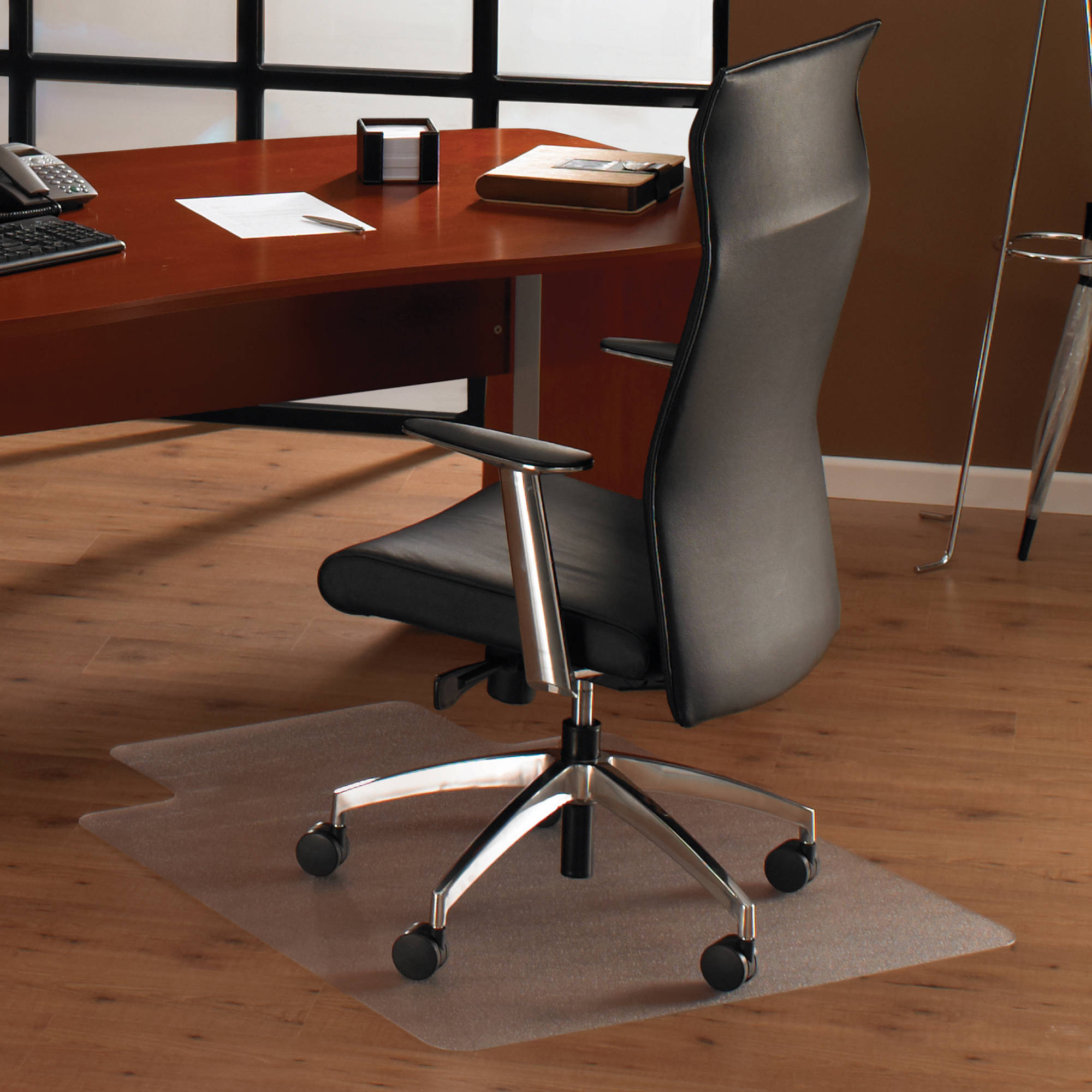 Floortex Cleartex Ultimat 35 x 47 Chair Mat for Low and Medium