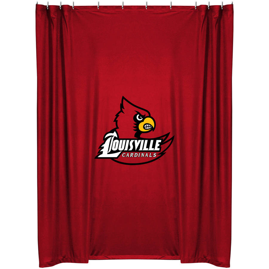 NCAA University of Louisville Shower Curtain