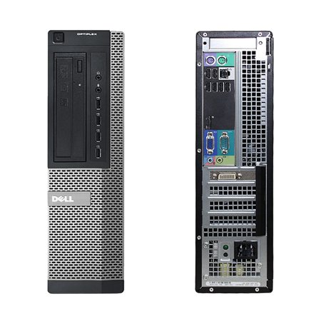 Dell OptiPlex 790, Desktop, Intel Core i3-2100 up to 3.10 GHz, 4GB DDR3, 1TB HDD, DVD-RW, Microsoft Windows 10 Pro 64-bit - image 2 de 3