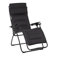Lafuma Futura Air Comfort Zero Gravity Indoor Outdoor Recliner Chair, Acier
