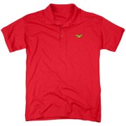 Justice League Embroidered Wonder Mens Polo Shirt