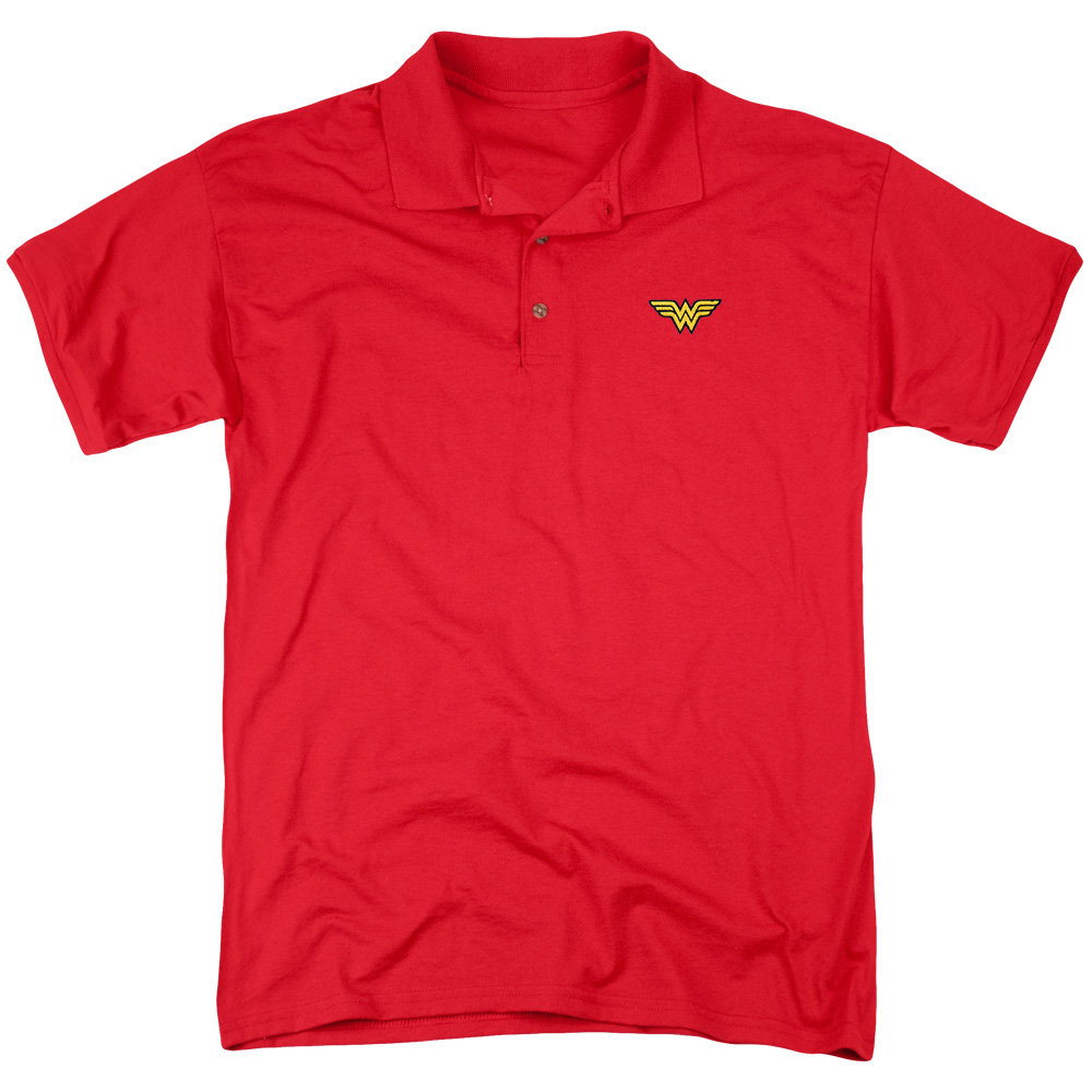 405d9cb0909 ... ralph lauren polo shirts for men. Justice League Embroidered Wonder  Mens Polo Shirt