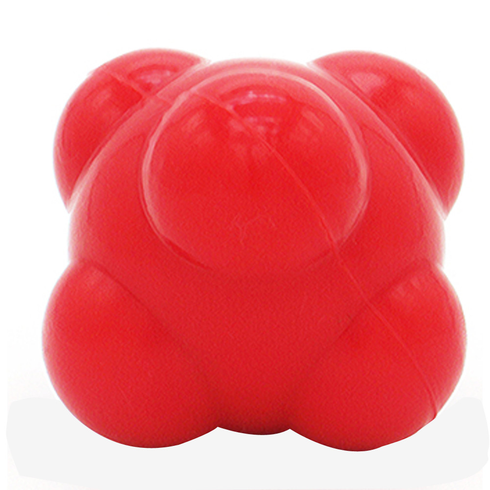 Sport Silicone Hexagonal Hex Ball Solid Fitness Training Exercise Reaction Balls