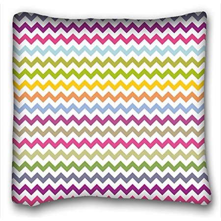 WinHome Chevron Gradient Wave Tribal Striped Geometric Pillowcase Throw Cushion Pillow Case Cover Anchor Light Blue Coral Teal Pink Mint Green Turquoise Aqua Grey Beige For Home Sofa Size 18x18 Inches - Mint Green Wall Decor