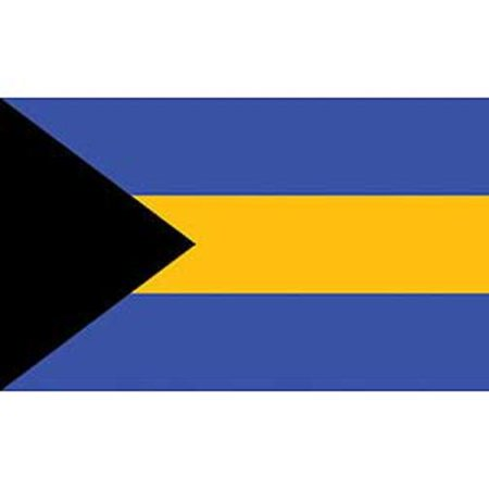 Bahamas Flag On A Stick 12