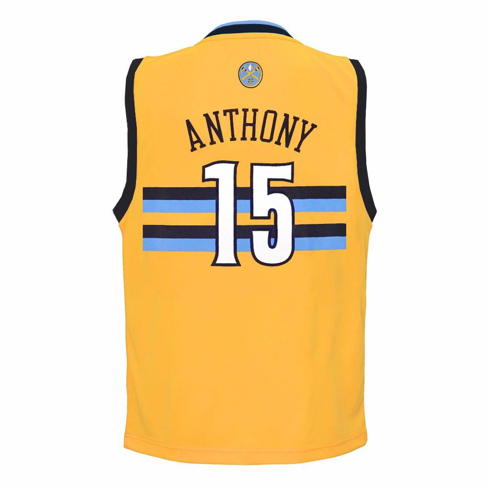 833e19fa372 ... top quality carmelo anthony denver nuggets nba adidas gold official  alternate replica basketball jersey for toddler