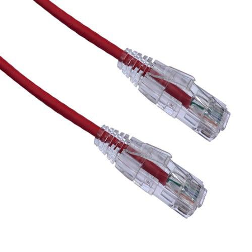 AXIOM 6FT CAT6A BENDNFLEX ULTRA-THIN SNAGLESS PATCH CABLE 650MHZ (RED) AXIOM 6FT CAT6A BENDNFLEX ULTRA-THIN SNAGLESS PATCH CABLE 650MHZ (RED)