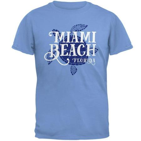 Summer Sun Sea Turtle Miami Beach Mens T Shirt - Gay Halloween Miami Beach
