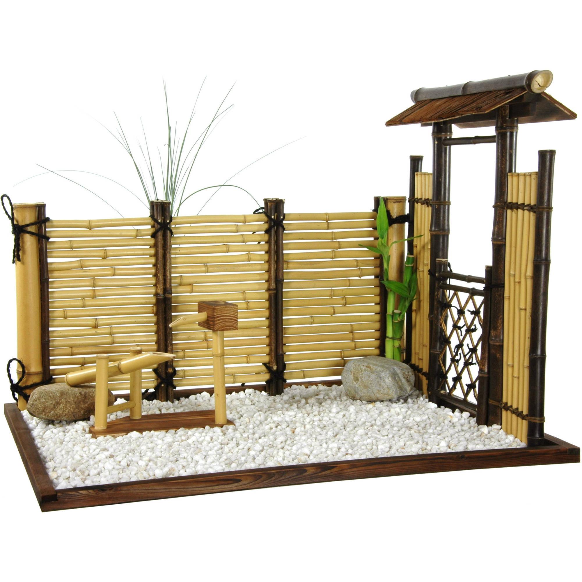 Zen Bamboo Mini Garden