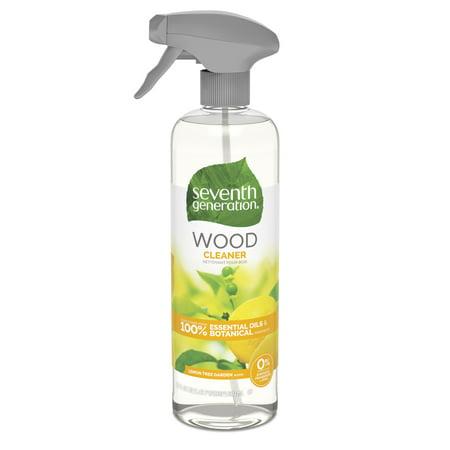 Seventh Generation Wood Cleaner, Lemon Garden scent, 23 oz ()
