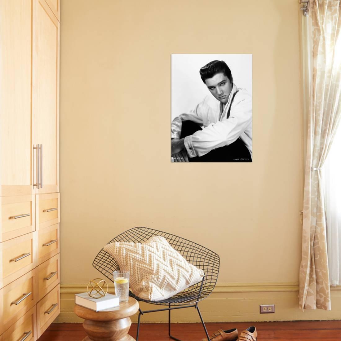 Elvis Presley, 1960 Print Wall Art - Walmart.com