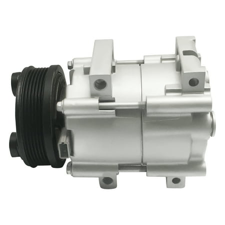 RYC Remanufactured AC Compressor and A/C Clutch EG168 Fits 2001, 2002, 2003, 2004, 2005, 2006, 2007 Ford Taurus 3.0L; 2001 - 2005 Mercury Sable -