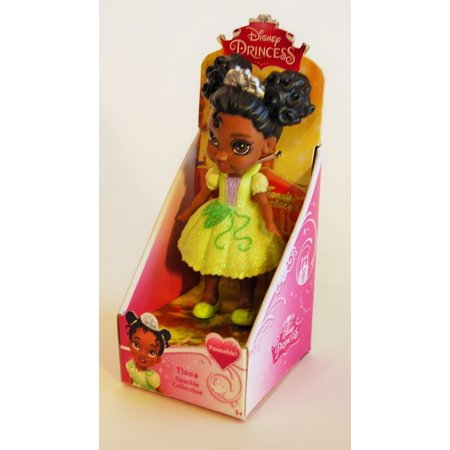 My First Disney Princess Sparkle Collection Mini Toddler Doll Tiana..., By Jakks Pacific Ship from US (Disney Princess Sale)