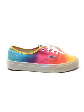 1c62c03584f762 Product Image Vans Authentic Womens Colorimetry Sneaker Shoe Rainbow White  Size 7.5 M US