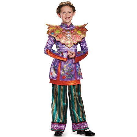Asian Women Costume (Disguise Alice Asian Look Deluxe Alice Through The Looking Glass Movie Disney Costume,)