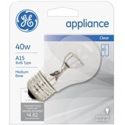 General Electric Appliances 40W, 15 Amp Bulb 1 ea