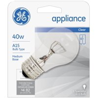 General Electric Appliances 40W, 15 Amp Bulb 1 ea