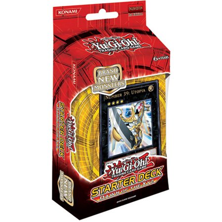 yugioh zexal 2011 starter deck dawn of the xyz new series new monster