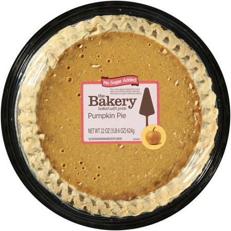 The Bakery At Walmart 8 No Sugar Added Pumpkin Pie 22 Oz