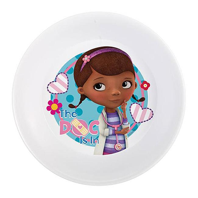 Zak Design Doc Mcstuffins DOCA-0361 5.5 in. Melamine Bowl Set, Pack Of 6