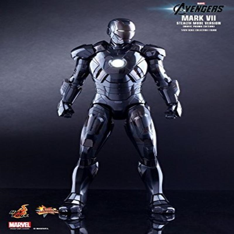 Hot Toys Mms282 Iron Man Mk7 Mark7 Tony Stark Avengers Stealth Mode Version