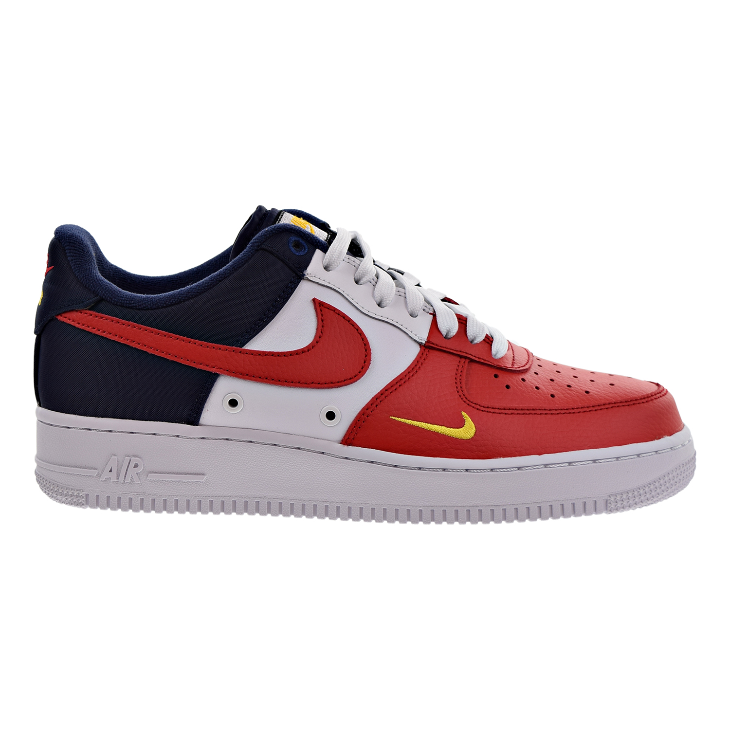 Nike Air Force 1 07 LV8 Men's Shoes University Red/Univer...