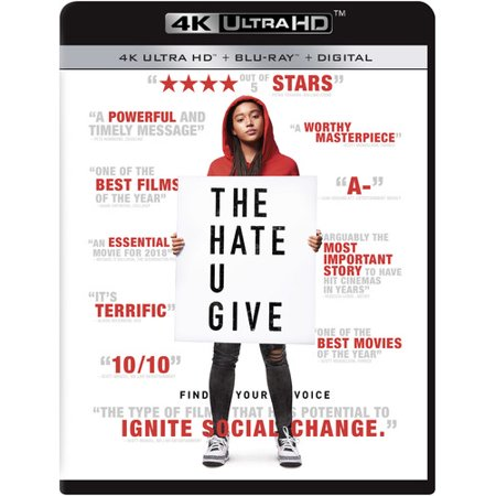 The Hate U Give 4k Ultra Hd Walmartcom