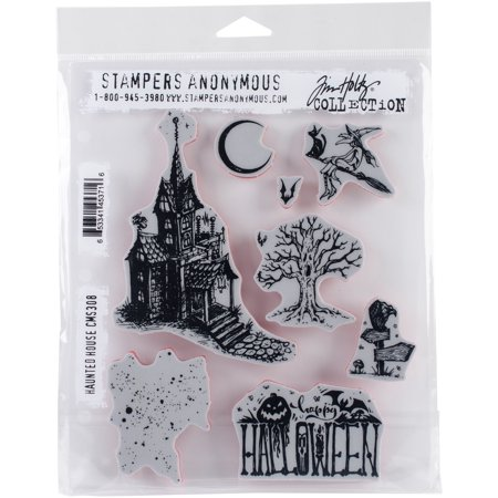 Tim Holtz Halloween Projects (Tim Holtz Cling Stamps 7