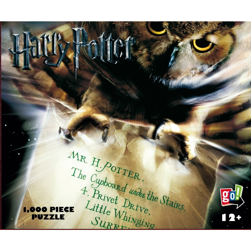 Harry Potter Hedwig's Flight 1000 Piece Puzzle,  Harry Potter by Go! Games