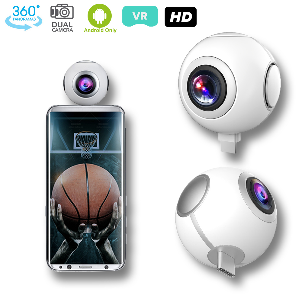 inDigi 360 Panorama Sport Video Recorder - Dual Wide Angl...